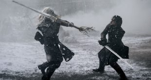 geeky bugle jon snow fight