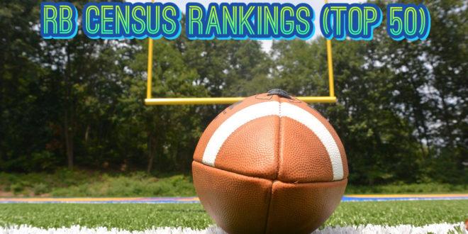 RB Census Rankings