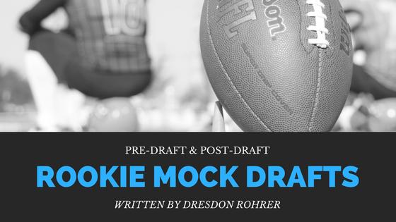 fantasy football rookie mock drafts