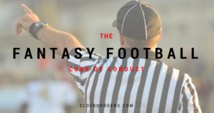 fantasy football code of conduct